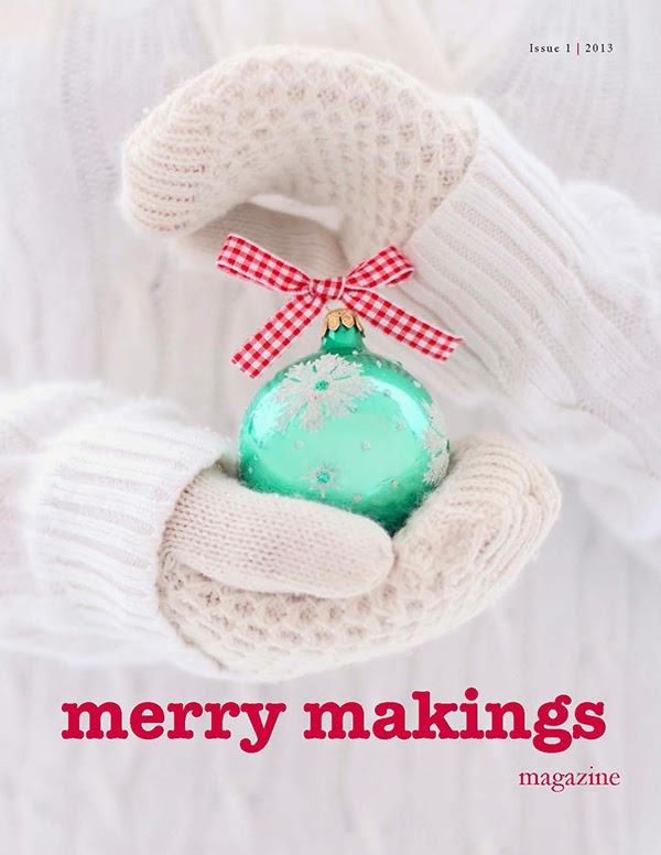 Free Merry Makings Handmade Christmas Magazine