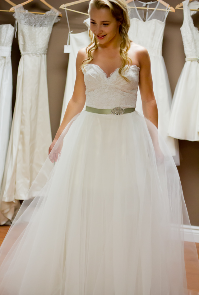 Pure Magnolia Bridal collection, eco wedding dress, pure magnolia, pure magnolia modular gown