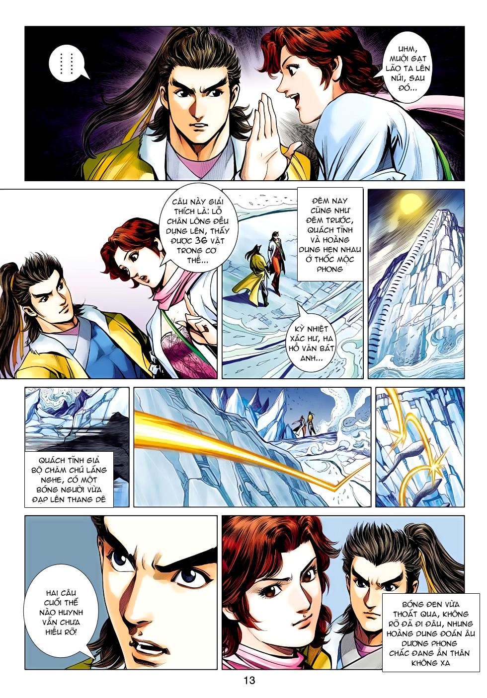 xem truyen moi - Anh Hùng Xạ Điêu - Chapter 95: Phong tỏa Tây Độc