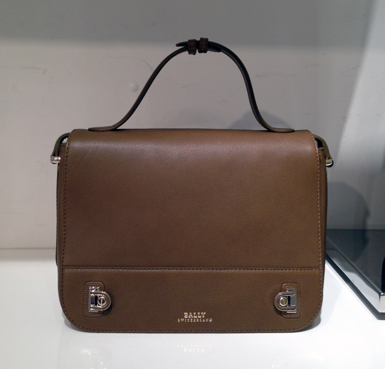 LEATHER GOODS BALLY DUFFY BAG OLIVE