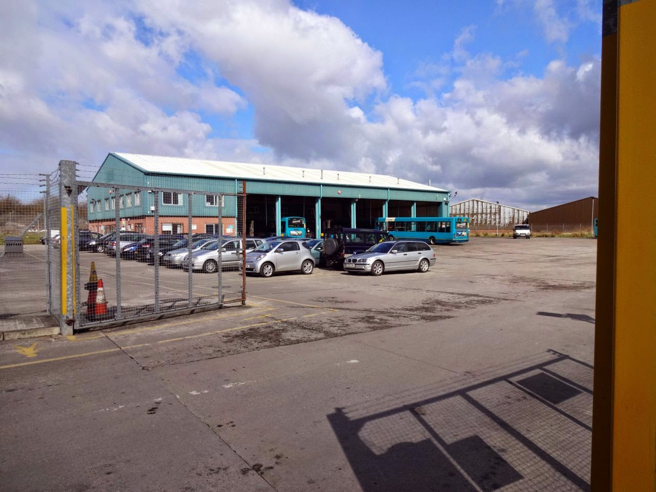 Arriva Wales Chester Depot.