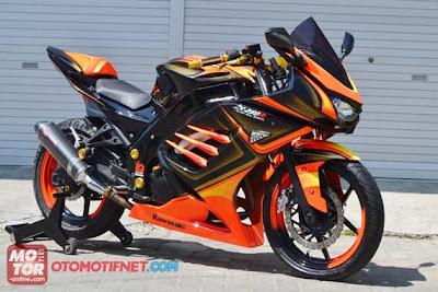 Kawasaki Ninja 250 modif airbrush