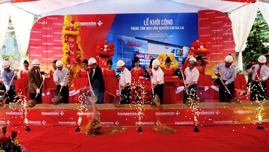 Gia Lai: Khởi công Trung tâm mua sắm Nguyễn Kim Gia Lai