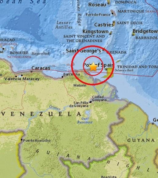 Magnitude 5.2 Earthquake of Irapa, Venezuelas 2015-04-16