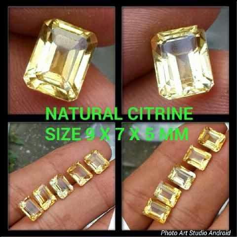 Batu Citrine Kuning