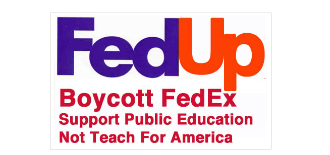 BOYCOTT FEDEX