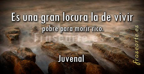 Frases famosas de Juvenal