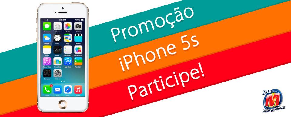 Participar promoção Metropolitana Fm 5S