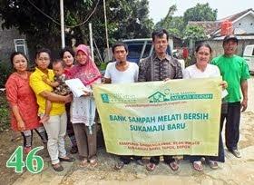 Bank Sampah Melati Bersih Sukamajubaru Tapos Depok