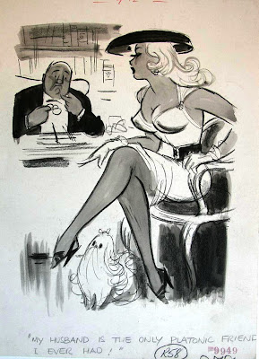 Michael Berry vintage cartoon girl