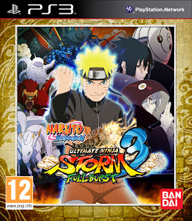naruto shippuden ultimate ninja storm 3 full burst european ps3 box art Naruto Shippuden: Ultimate Ninja Storm 3   Full Burst (360/PC/PS3)   Logo, PS3 Box Art, Screenshots, Trailer, & Press Release
