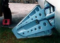 Выпуск и уборка тормозного щитка истребителя МиГ-15