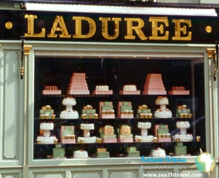 أفضل محلات الحلويات باريس