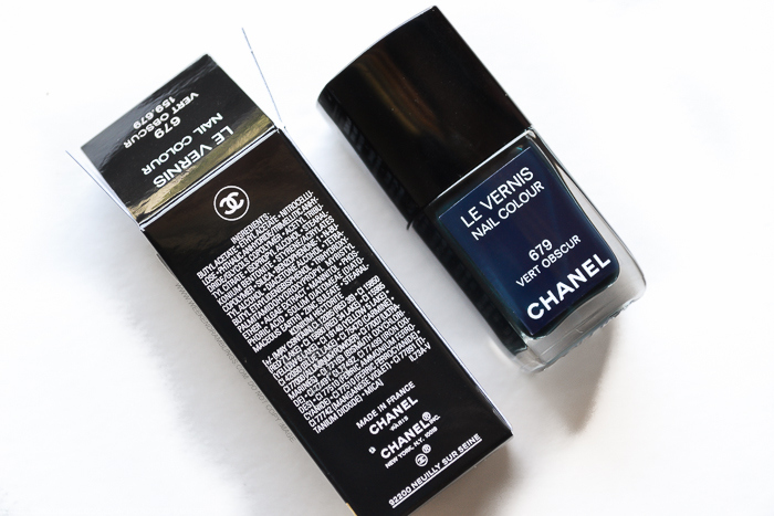 Chanel Le Vernis Nail Polish Vert Obscur 679 - Ingredients