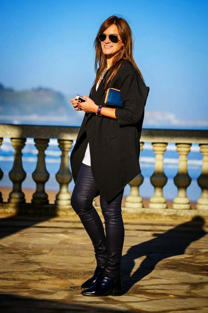 Blue&Black, Sheinside, Kaioa Orio-Zarautz,Zara , Streetstyle, Lucía Díez , Estilo ,es Cuestion de estilo , blog , Blogger,