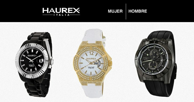Haurex relojes de dise o italiano en oferta relojes - Relojes de diseno ...