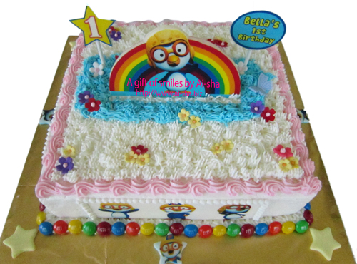 Birthday Cake Edible Image Pororo