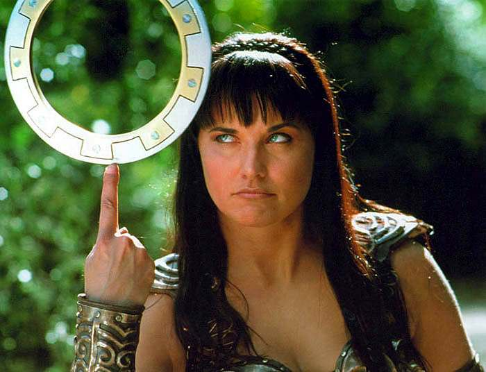 "Xena xena 3A warrior princess 347916 700 536 In this episode of ""Teen Hitchhikers"", Charity gets picked up for a ride ..."