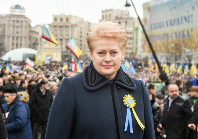 "Lithuanian President Grybauskaitė awarded as Ukrainian ""Person of the Year"""