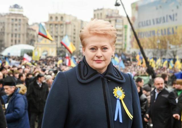 """Al presidente lituano Grybauskaitė hanno assegnato premio ucraino """"Persona dell'anno"""""""