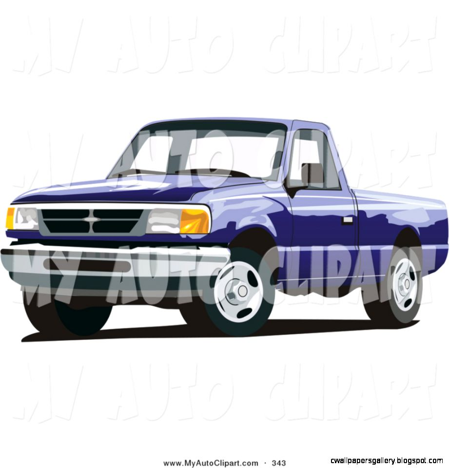 Ford Pickup Truck Clip Art