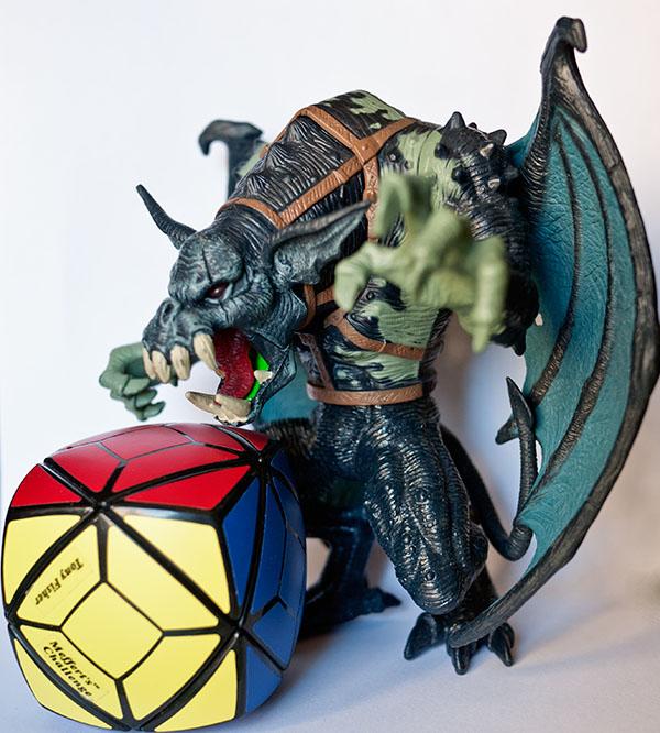 Skewb Cube Rubik Dragon