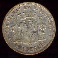 El origen de la palabra peseta