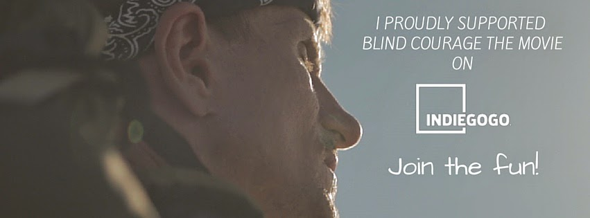 "Support the Movie ""Blind Courage"""