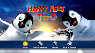 Happy Feet 2: O Pinguim DVD R CUSTOM Capa