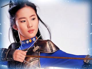 Crystal Liu Yi Fei (劉亦菲) Wallpaper HD 9