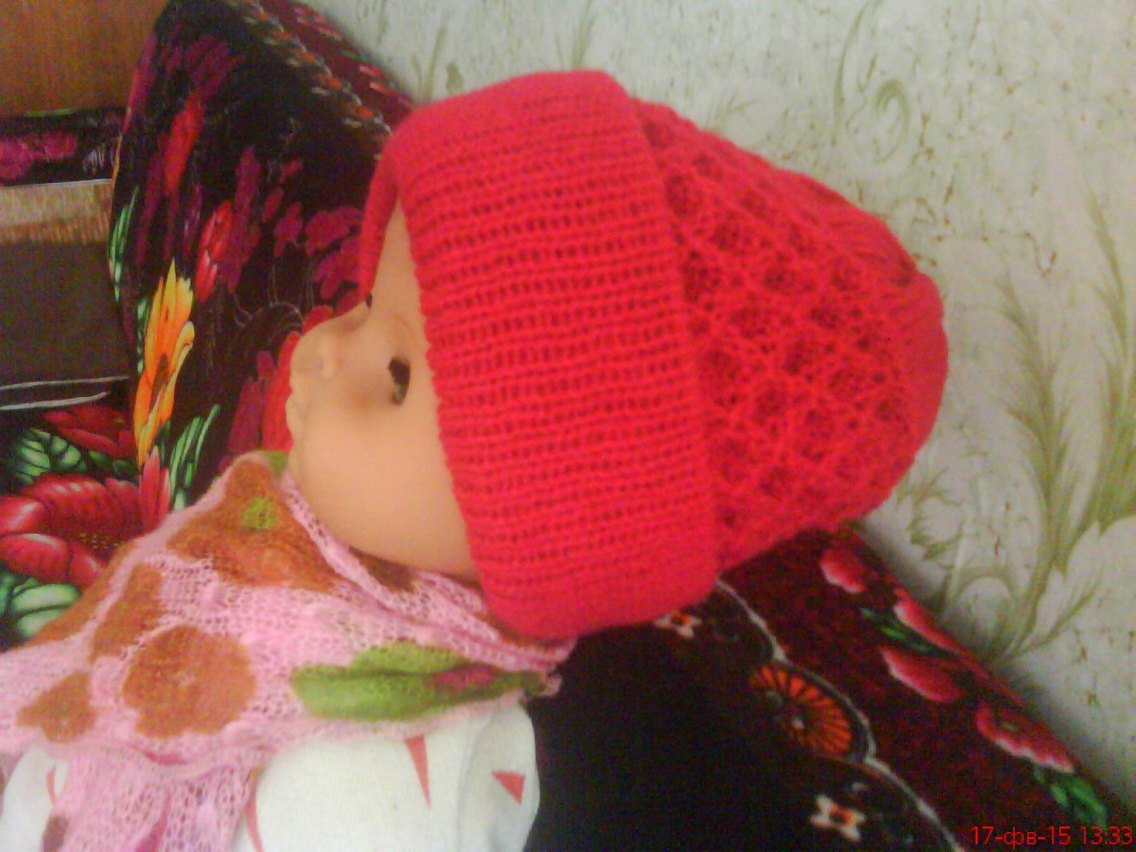 Вязание шапок на вязальной машинке