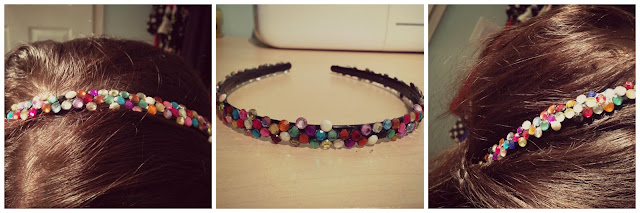 #DIY Jewelled Headband