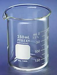gelas ukur beaker glass