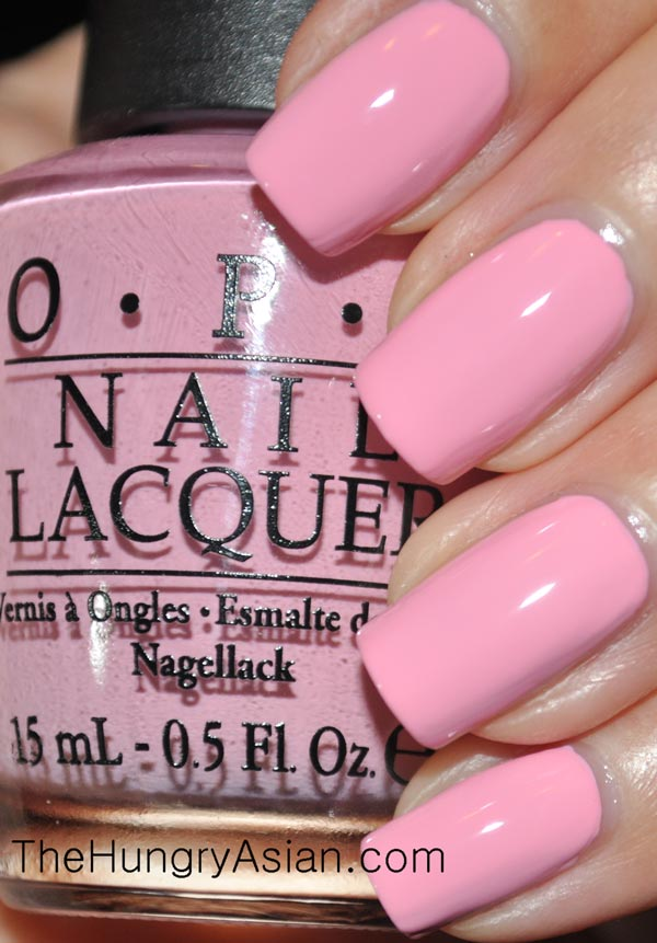 Nicki Minaj by OPI Swatches and Review