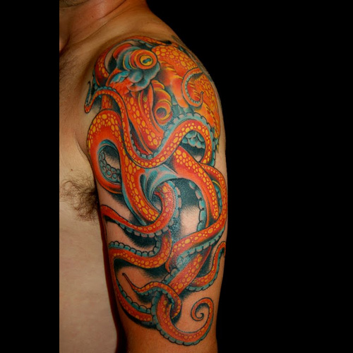 octopus tattoo #tattoofriday   Tattoos & Tentacles