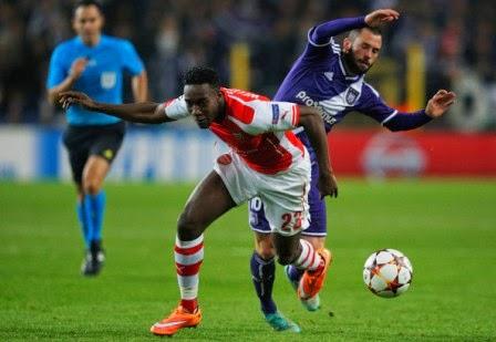 Agen Bola Indonesia - Data Statistik Arsenal vs Anderlecht 05/11/2014