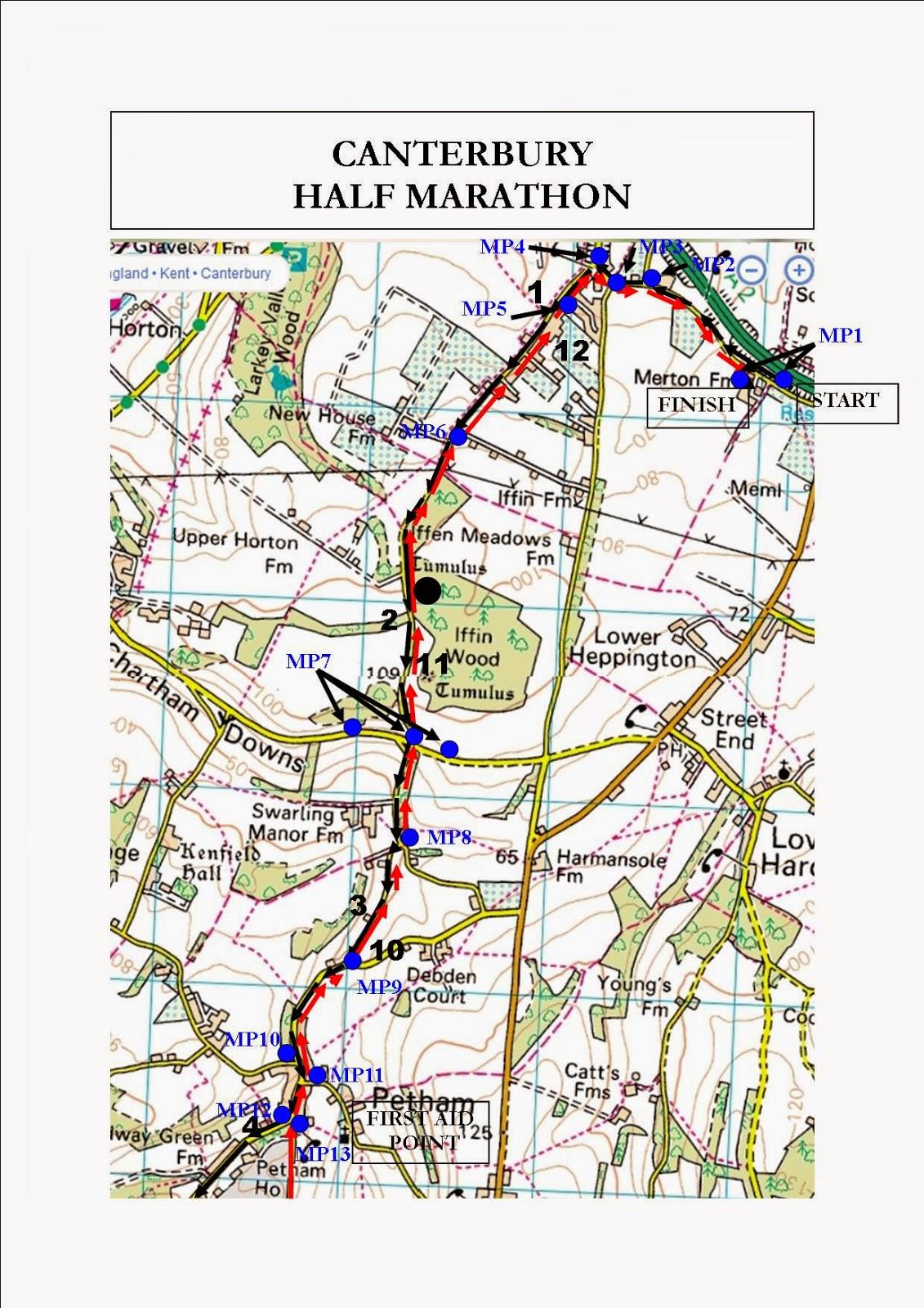 blog7t Canterbury Half Marathon 2014