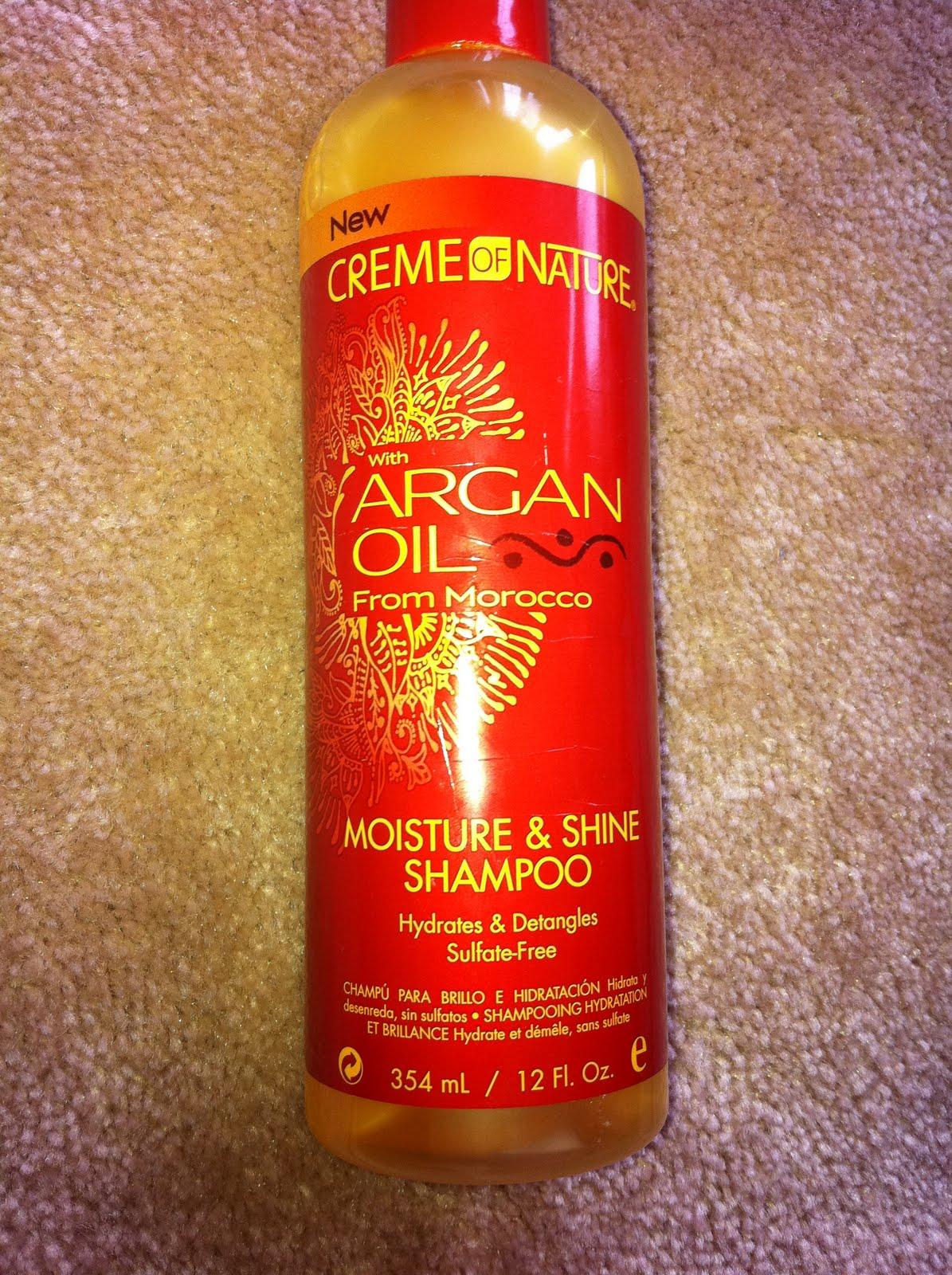 Creme Of Nature Argan Oil Shampoo Review Natural Hair