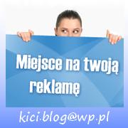 Chcesz podjąć z blogiem współpracę? Chcesz zamieścić baner firmy/sklepu lub rekalmę produktu?