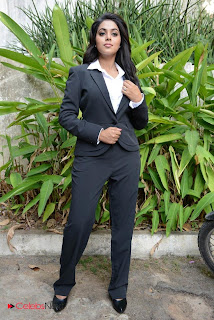 Poorna Stylish Picture Gallery in Black Women Suit Jacket  0011