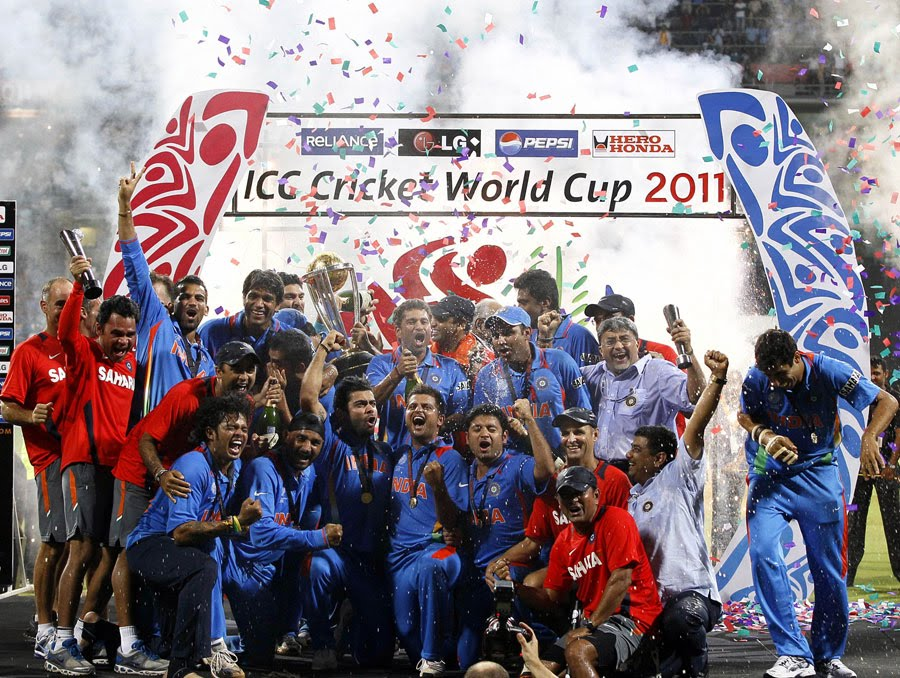 world cup final 2011 winning moments. world cup cricket final 2011