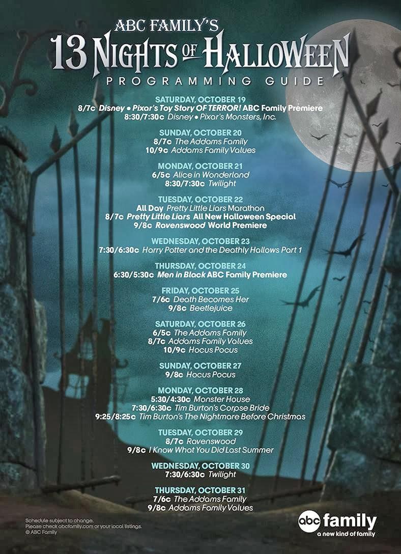 13 nights of halloween - 13 Night Of Halloween