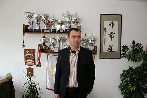 Стефан Колев, председател на БФУ и на клуб Бейсин