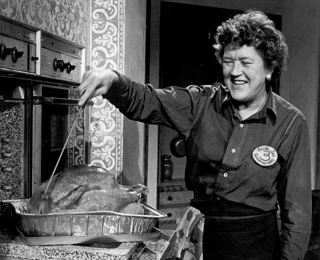 Julia Child Bastes a Turkey WGBH