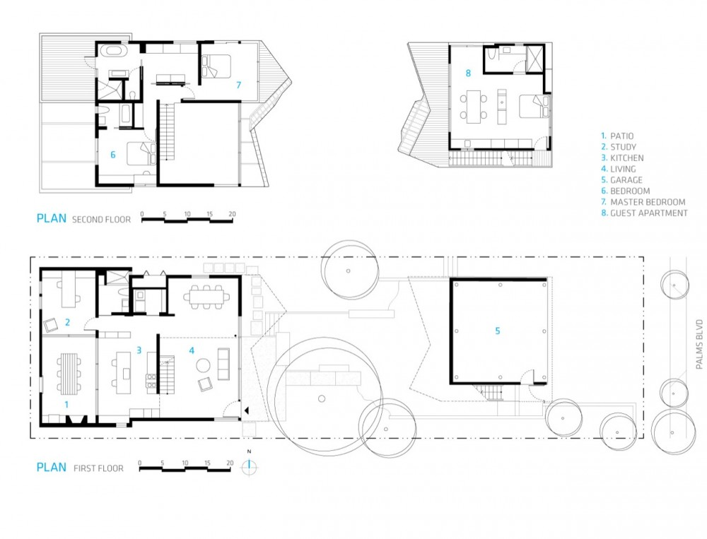Garage Apartment Plans With Balcony