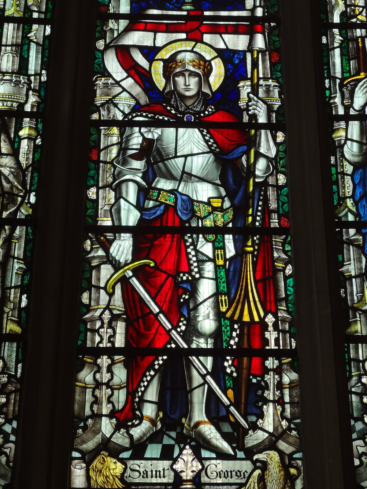 A Clerk Of Oxford Stained Glass For St George S Day