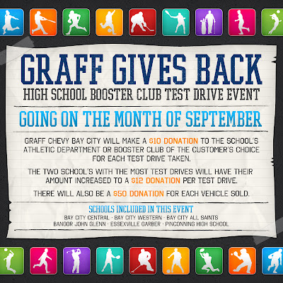 Graff Gives Back - Test Drive
