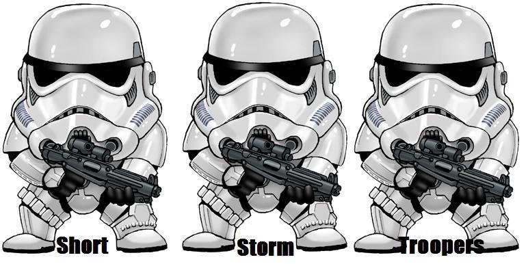 Short Storm Troopers