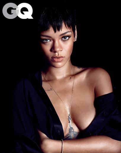 Fotos Rihanna - Revista GQ Dezembro