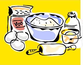 Baking Ingredients Clipart Torah Toy: Get ...